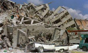 پاورپوینت آماده زلزله و معیارهای سنجش زلزله