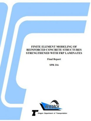 FINITE ELEMENT MODELING OF REINFORCED CONCRETE STRUCTURES STRENGTHENED WITH FRP LAMINATES